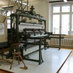 Stickereimaschine aus alter Zeit