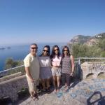 Amalfi Coast-Tony, Yvonne, Melissa & Natalie-3 July 2015 (from Melbourne, Australia)