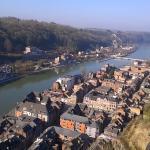 Uitzicht over de Maas vanaf de citadel van Dinant