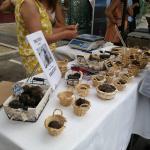 Stall selling truffles