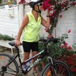 På sykkeltur i nærområdet 30km på 2 dgr...