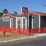 ALOHA PIZZA back side