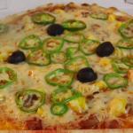 Chez camembert pizza