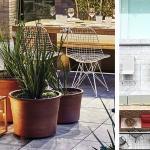 Terraza-jardín y piscina exterior hotel