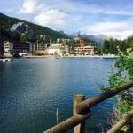 Face au lac Grenon, restaurant et terrasse, top qualité des produits frais et réalisés avec créa