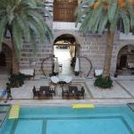 Courtyard pool, Kervansaray Hotel, Cesme