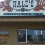 Hales Entrance Sign
