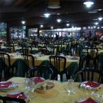 Vista della sala ristorante