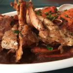 crab in spicy black bean sauce