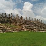 the ruins at Ake
