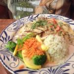 Seafood fish and fajitas