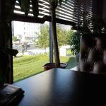 """За окном """"зелёная трава"""""""
