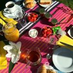 Breakfast always a pleasure