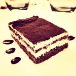 Tiramisù con pan di spagna al cioccolato_Dessert