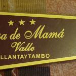 Llavero del hotel de Ollanta