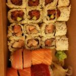 Box of sushi to go - yes, please!