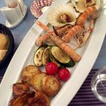 Some delicious seafood extras to go with the fresh fish main
