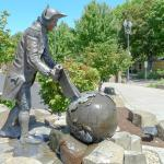 Captain George Vancouver located on south west corner of park