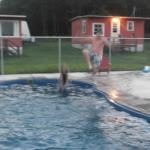 kids love the cannonball dives