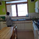 台所。利用する人は少なかったが・・・。