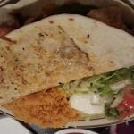 Quesadilla fajita with chicken