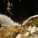 Uno de los mejores rápeles del Pirineo
