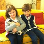 Flaminia and Domenico. Flaminia loves shu-shu