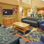 Sacramento Airport Hotel Sitting Area