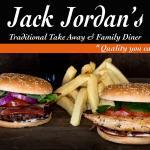 Jack Jordan's 6oz Steak Burger and Jack Jordan's Chicken Fillet Burger