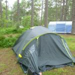 Our camp with closeness of family next door