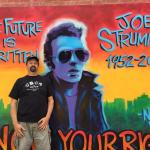 Joe Strummer mural.