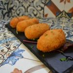 Our famous homemade chicken and spanish ham croquettes!