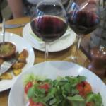 Mini-burgers et brushettas à l'italienne