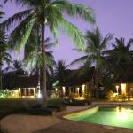 Pool and Gladaks at night