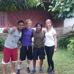 amy and beau,nice couple from UK,visited us in july 2015,for 1 day trek
