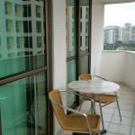 varanda do apartamento