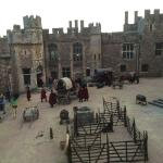 Inner Bailey - filming for BBC2's Wolf Hall
