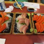 Great fresh sashimi