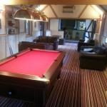 Refurb coming along nicely.  Pool rm almost complete