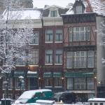Singel Hotel in winter