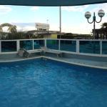 Vista camere fronte mare, terrazza all'aperto per pranzo e colazione vista mare, piscina e visua