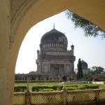 Tombs in the Golkonda Fort