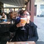Ótima cerveja de trigo no Old Wild West