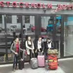 Em Estocolmo com as melhores cias
