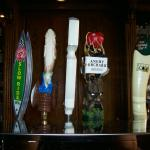 Beers on tap at King's Court Tavern and Wine Bar