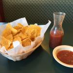 Mango's amazing chips and salsa
