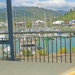 View to the marina