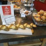 baked bread + rolls