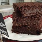Gluten free gooey chocolate brownies