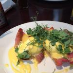 Amazing eggs benedict! Yum!